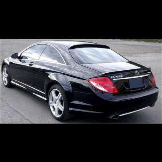 2008-2013 Mercedes CL Euro Style 3pc Rear Lip Spoiler