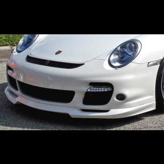 2006+ Porsche 911 / 997 Turbo Tuner Sport Style Front Chin Lip Spoiler