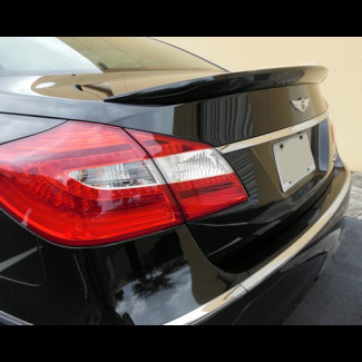 2009-2013  Hyundai Genesis Sedan Tuner Style Rear Trunk Lip Spoiler