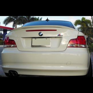 2007+ BMW 1 Series Euro Style Rear Trunk Lip  Spoiler