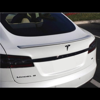 2012-2016 Tesla S Factory Style Rear Lip Spoiler