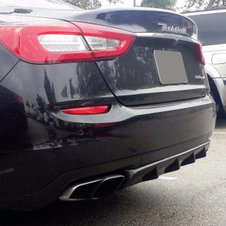 2013-2017 Maserati Quattroporte Tesoro Rear Diffuser