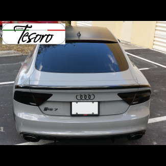 2010-2017 AUDI A7 / S7 / RS7 Linea Tesoro Style 3pc Rear Trunk Lip Spoiler