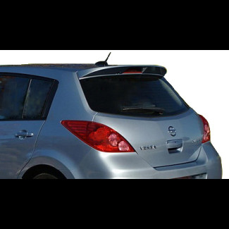Fits 2007-2013 Nissan Versa Hatchback Factory Style Spoiler Wing