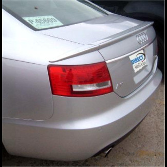 2005-2010 Audi A6 Factory Style 3pc Rear Lip Spoiler