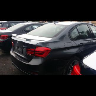 2012-2017 BMW 3 Series Sedan Euro Style 2 Post Rear Wing Spoiler