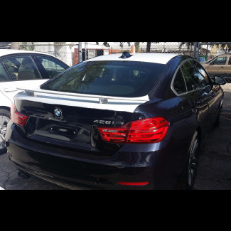 2014-2017 BMW 4-Series Gran Coupe Euro Style 2 post Rear Wing Spoiler