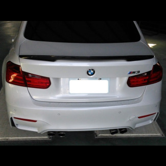 2014-2017 BMW M3 Tuner Style Carbon Fiber Rear Spoiler