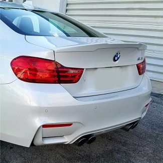 2014-2017 BMW 4 Series M4 Tuner Style Rear Lip Spoiler