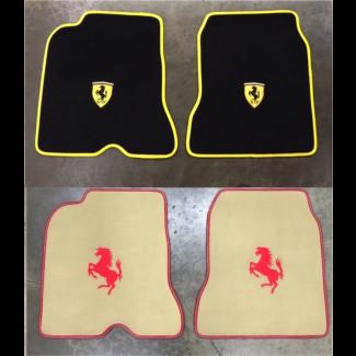 2014-2016 Ferrari California T Custom German Velour Floor Mats (Set)