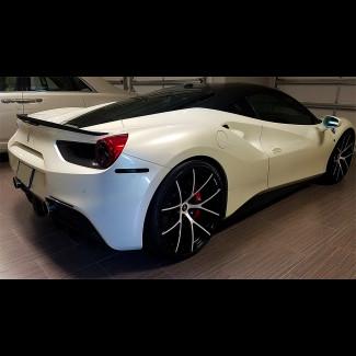 2015-2019 Ferrari 488 GTB Linea Tesoro Rear Trunk Lip Spoiler