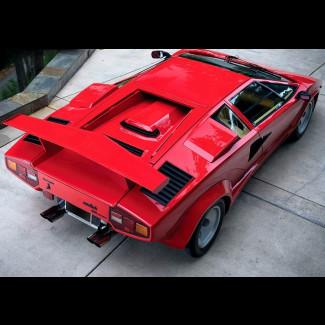 1986-1990 Lamborghini Countach Medium Factory Style Rear Wing Spoiler