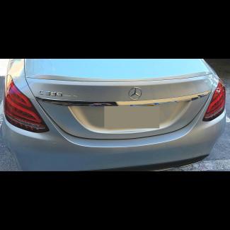 2015-2017 Mercedes C-Class Sedan AMG Style Rear Lip Spoiler