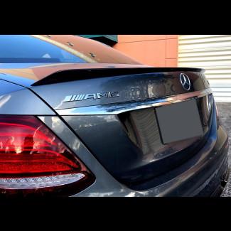 2017+ Mercedes E-Class Sedan E63 AMG Style Rear Lip Spoiler