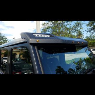 Mercedes Benz G-Class G55,G63,G500,G55 4x4 Squared Roof Light Bar Spoiler