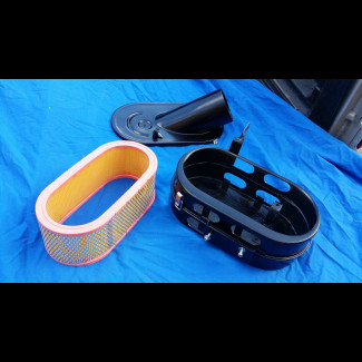 1967-1973 Maserati Ghibli SS European Style Lower Air Box / Element Base