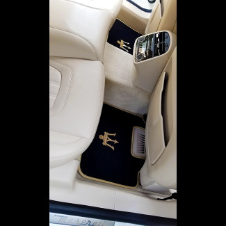 2013-2017 Maserati Quattroporte German Velour Front & Rear Floor Mats