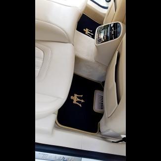 2013-2017 Maserati Quattroporte German Velour Front & Rear Floor Mats