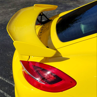 2013-2016 Porsche Cayman GT4 Style Rear Wing Spoiler