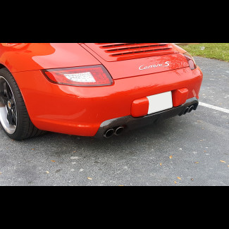 2005-2008 Porsche 911 / 997 Real Carbon Fiber Rear Diffuser
