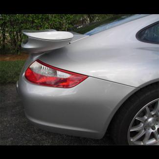 2006+ Porsche 911 / 997 Turbo Aero Style Rear 2pc Wing