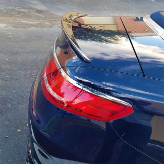 2016-2017 Mercedes S-Class Convertible Tesoro Style Rear Lip Spoiler