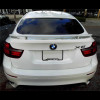 2008-2013 BMW X6 H-Style 2 Post Rear Wing Spoiler