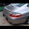 1998-2004 Porsche 911 / 996 Cabriolet Euro Style Rear 3pc Trunk Lip Spoiler