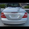 2003-2009 Mercedes CLK Cabrio AMG Style Rear Lip Spoiler