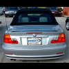1999-2006 BMW 3-Series Convertible Factory Style Rear Wing Spoiler