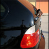 1999-2005 BMW X5 Euro Style Rear Hatch Center Lip Spoiler