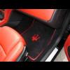 2010-2017 Maserati GranCabrio 2 Front Custom German Velour Floor Mats