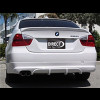 2005-2008 BMW 3-Series Sedan ACS Style Rear Bumper Skirt