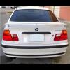 1999-2005 BMW 3-Series Sedan Euro Style Rear Wing Spoiler