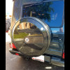 MERCEDES G CLASS G500 G55 COMPLETE REAR SPARE WHEEL TIRE COVER - CARBON FIBER