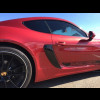 2013-2016 Porsche Cayman GT4 Style Side Air Scoop Vents