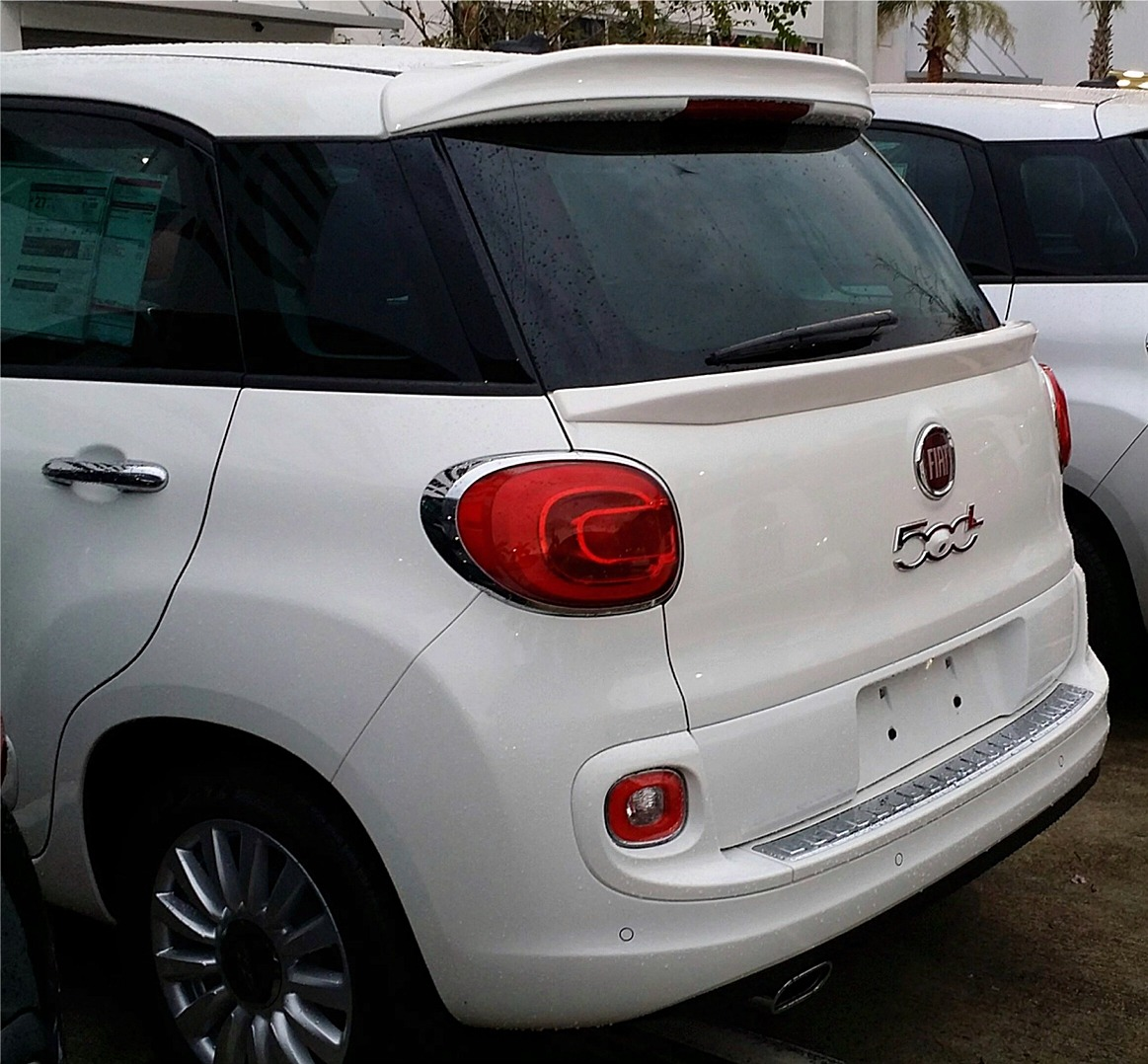 2013-2016 Fiat 500L Tuner Style Rear Hatch Lip Spoiler