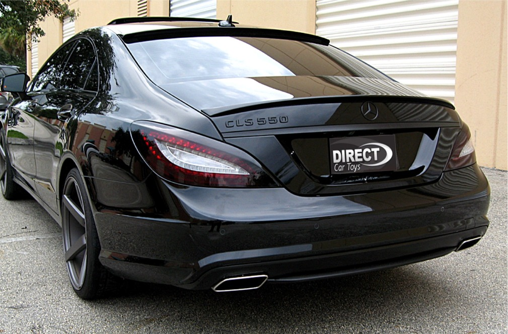 2011 2017 Mercedes Benz Cls Euro Style Rear Roof Glass Spoiler