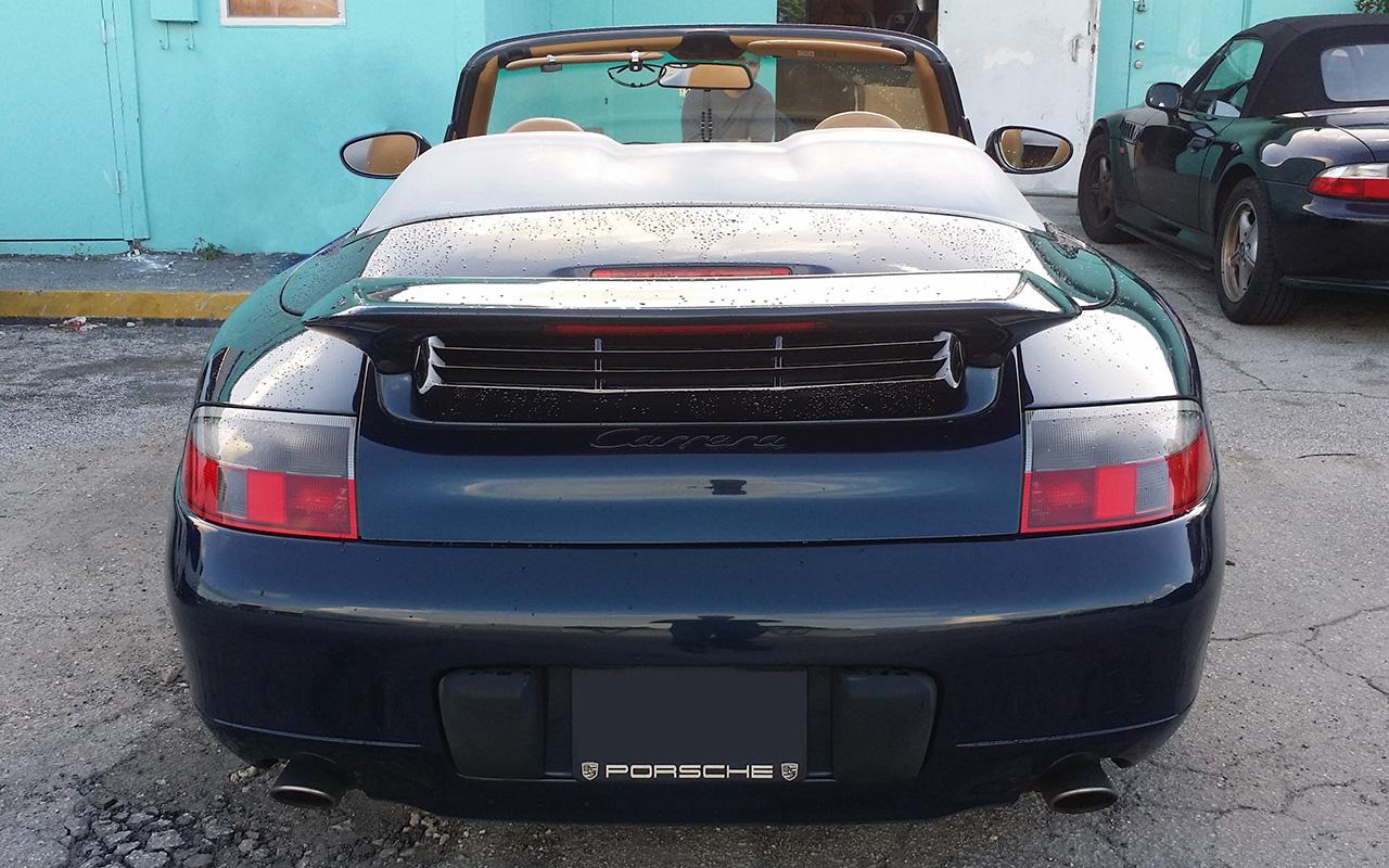 1997 2004 porsche 911 996 c2 aero style rear wing spoiler. Black Bedroom Furniture Sets. Home Design Ideas