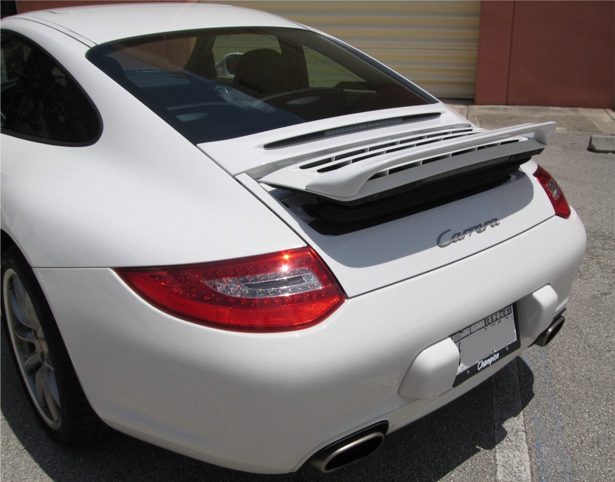 2005 2012 porsche 911 997 euro style rear wing spoiler. Black Bedroom Furniture Sets. Home Design Ideas